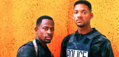 Martin Lawrence und Will Smith als Bad Boys