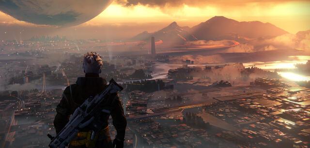 Szene aus Destiny