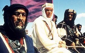 Lawrence von Arabien mit Peter O'Toole, Anthony Quinn und Omar Sharif
