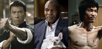 Donnie Yen / Mike Tyson / Bruce Lee