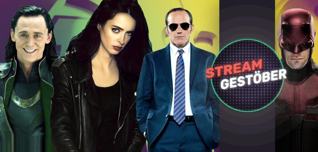 Loki, Jessica Jones, Agent Coulson, Daredevil