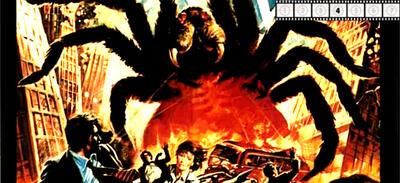 """Ausschnitt aus dem DVD-Cover zu """"Angriff der Riesenspinnen"""" (1975)"""