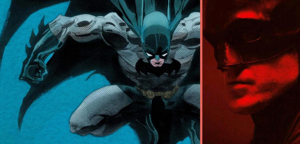 Robert Pattinson als Batman /The Long Halloween