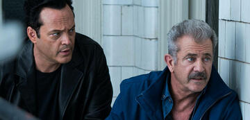 Vince Vaughn und Mel Gibson in Dragged Across Concrete
