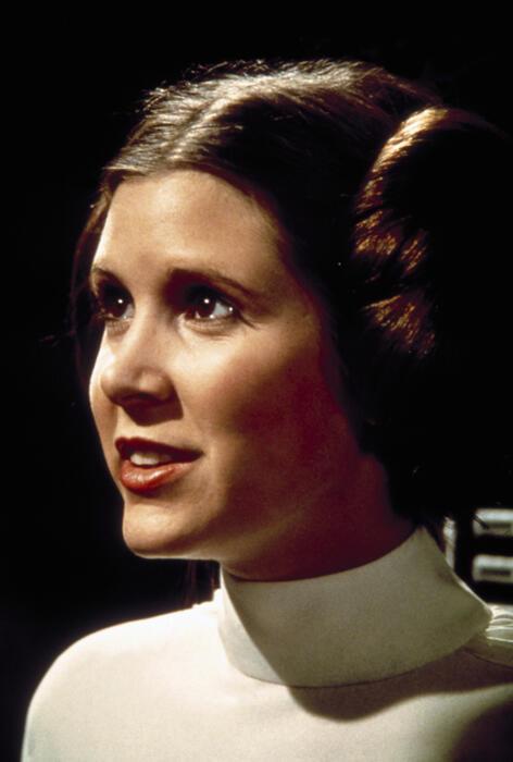 Krieg der Sterne mit Carrie Fisher