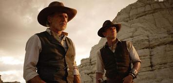 Bild zu:  Harrison Ford und Daniel Craig in Cowboys & Aliens