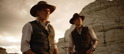 Harrison Ford und Daniel Craig in Cowboys & Aliens