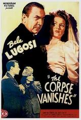 The Corpse Vanishes - Poster