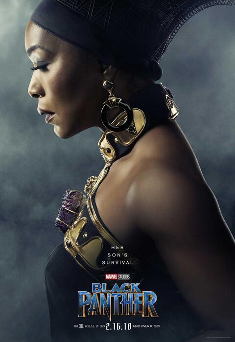 Black Panther mit Angela Bassett