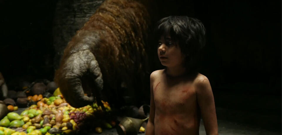 King Louies Arm in The Jungle Book