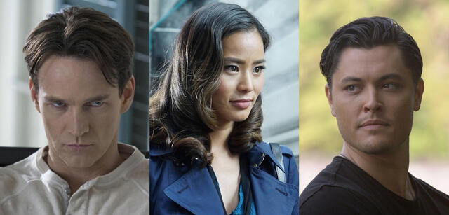 Stephen Meyer, Jamie Chung, Blair Redford