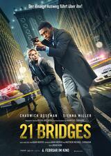 21 Bridges - Poster