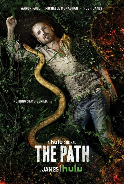 Aaron Paul als Eddie Lane in The Path - Bild 3 von 3