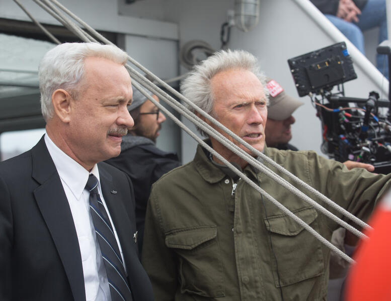 Sully mit Tom Hanks