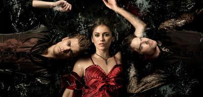 Elena und die Salvatore-Brüder in Vampire Diaries