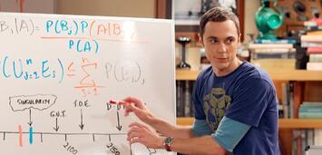 Bild zu:  The Big Bang Theory mitJim Parsons als Sheldon Cooper
