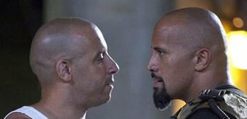 Bild zu:  Vin Diesel und Dwayne Johnson in Fast & Furious Five