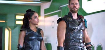 Valkyrie und Thor in Thor 3