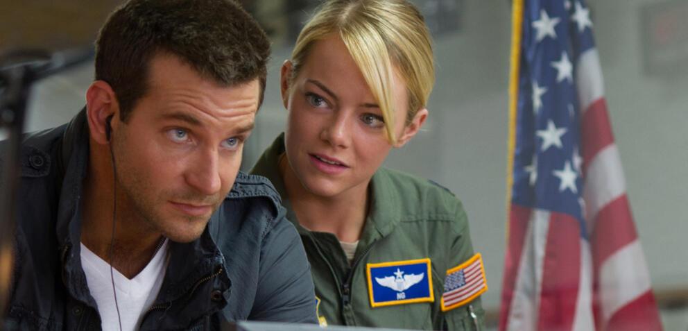 Bradley Cooper und Emma Stone in Aloha