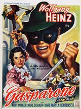 Gasparone - Poster