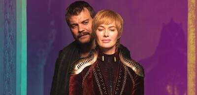 Pilou Asbaek und Lena Headey in Game of Thrones