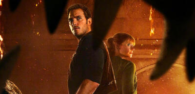Jurassic World 2: Chris Pratt und Bryce Dallas Howard