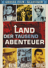 Land der tausend Abenteuer - Poster