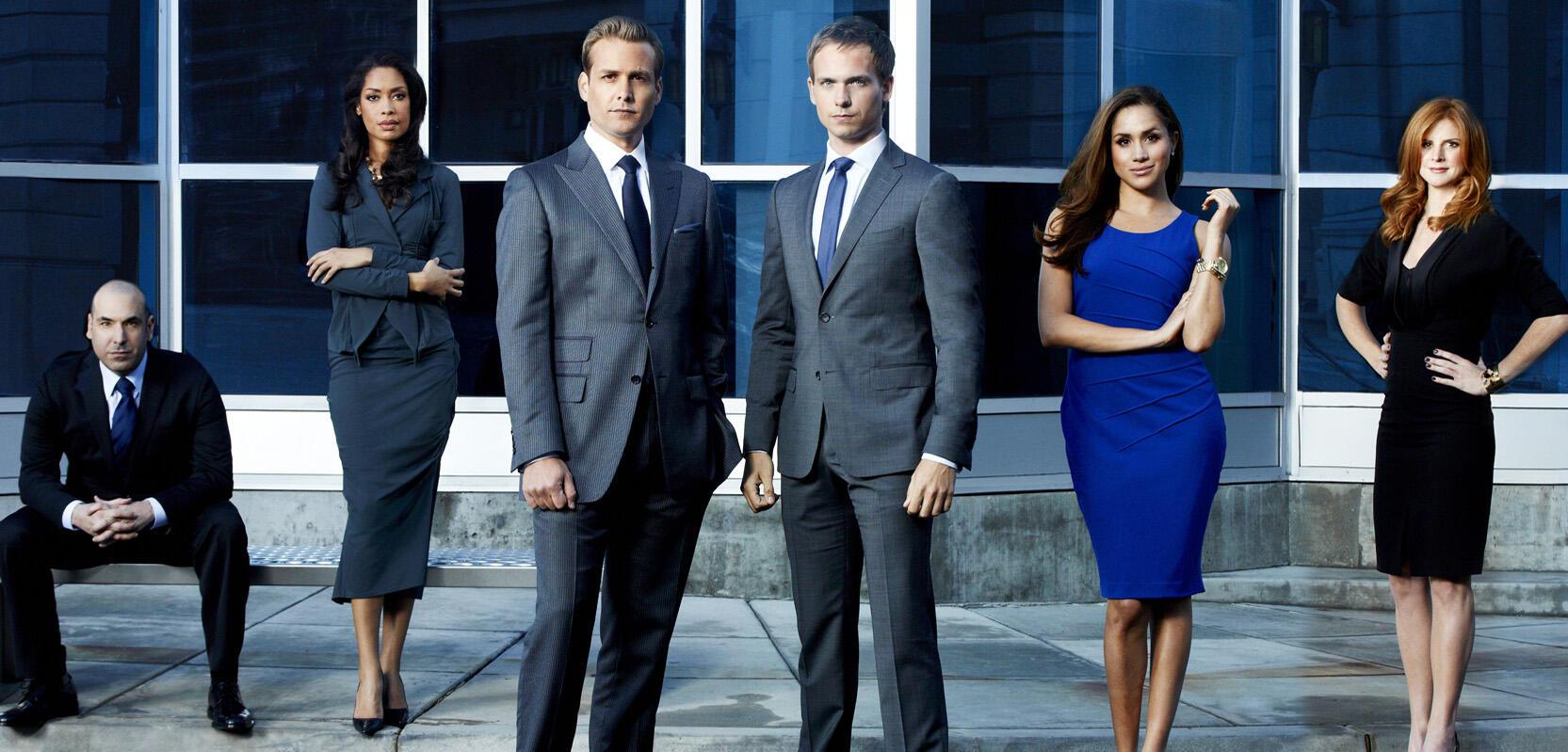 Anwaltsserie Suits