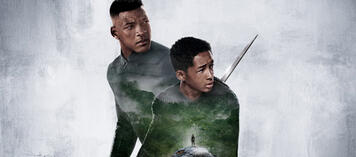 Jaden Smith & Will Smith in After Earth