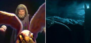Der Herr der Ringe im Vergleich: Gandalf auf Adler