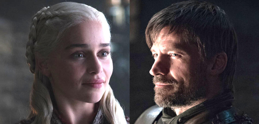 Emilia Clarke und Nikolaj Coster-Waldau in Game of Thrones