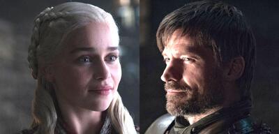 Emilia Clarke undNikolaj Coster-Waldau inGame of Thrones
