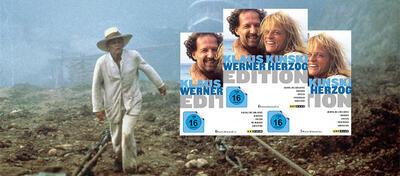 Klaus Kinski & Werner Herzog Edition auf Blu-ray