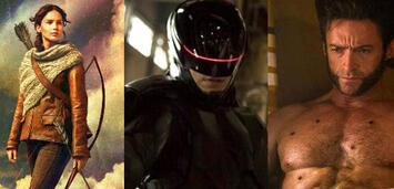 Bild zu:  Katniss Everdeen, RoboCop & Wolverine