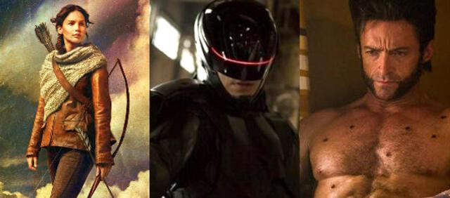 Katniss Everdeen, RoboCop & Wolverine