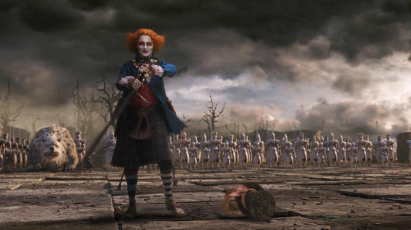 Alice im Wunderland mit Johnny Depp