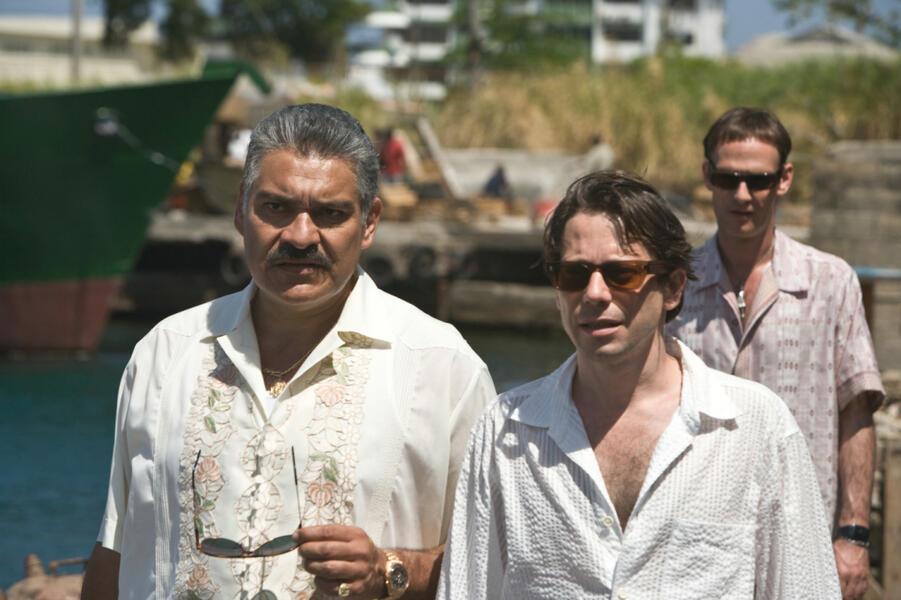 James Bond 007 - Ein Quantum Trost mit Mathieu Amalric, Anatole Taubman und Joaquín Cosio