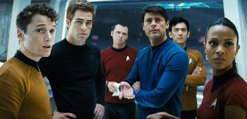Die Star Trek-Crew aus der Kelvin-Timeline