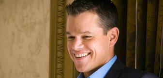 Matt Damon in Ocean's Thirteen