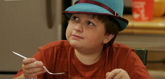 Angus T. Jones in Two and a Half Men