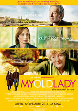 My Old Lady - Poster