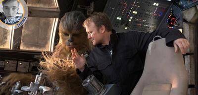 Rian Johnson bei den Dreharbeiten von Star Wars: Die letzten Jedi