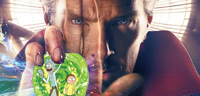 Doctor Strange/Rick and Morty