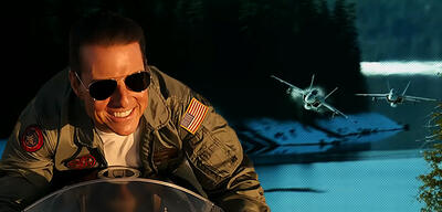Tom Cruise in Top Gun 2: Maverick