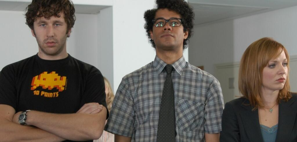 IT Crowd is not amused