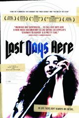 Last Days Here - It's A Long Way Back From Hell - Poster