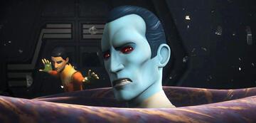Thrawn und Ezra in Star Wars Rebels