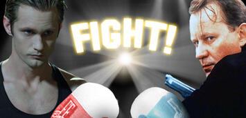 Bild zu:  Fight der Woche - Alexander Skarsgård vs. Stellan Skarsgård