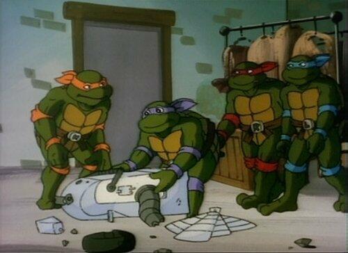 Teenage Mutant Hero Turtles - Staffel 4