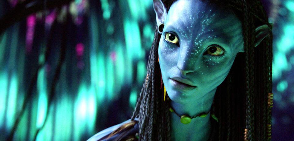 Zoe Saldana in Avatar - Aufbruch nach Pandora